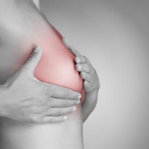 Schmerzen im Brustbereich